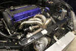DOC Race Front Facing Twinscroll Manifold - Evo 8/9