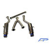 Agency Power Ti Tip Dual Catback Exhaust - EVO X