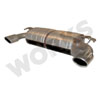 WORKS Exhale StealthWORKS Performance Muffler - EVO X