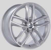 BBS SX 17x7.5 5x114.3 ET42 Sport Silver Wheels -82mm PFS/Clip Required