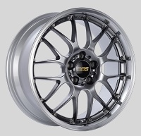 BBS RS-GT 20x8.5 5x114.3 ET38 Diamond Black Center Diamond Cut Lip Wheels -82mm PFS/Clip Required