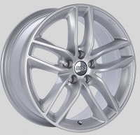 BBS SX 19x8.5 5x114.3 ET45 Sport Silver Wheels -82mm PFS/Clip Required