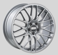 BBS CS 18x8 5x114.3 ET40 Sport Silver Wheels -82mm PFS/Clip Required