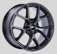 BBS SR 18x8 5x114.3 ET40 Satin Grey Wheels -82mm PFS/Clip Required