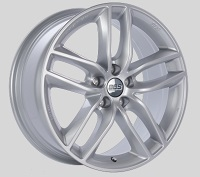 BBS SX 18x8 5x114.3 ET40 Sport Silver Wheels -82mm PFS/Clip Required