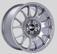 BBS CH 18x8 5x114.3 ET38 Diamond Silver Wheels -82mm PFS/Clip Required