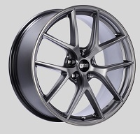BBS CI-R 19x8 5x114.3 ET38 Platinum Silver Polished Rim Protector Wheels -82mm PFS/Clip Required