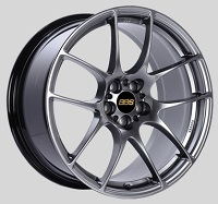 BBS RF 18x9 5x114.3 ET48 Diamond Black Wheels -82mm PFS/Clip Required