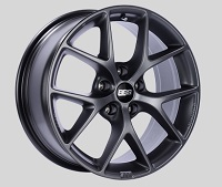 BBS SR 18x8 5x114.3 ET50 Satin Grey Wheels -82mm PFS/Clip Required