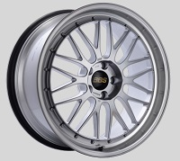 BBS LM 20x9.5 5x114.3 ET40 CB66 Diamond Silver Center Diamond Cut Lip Wheels