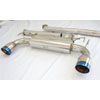 "CNT Racing RS 3"" Cat Back Exhaust w/Burnt Tips - EVO X 2008-2011"