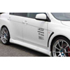 C West Side Skirts Set PFRP - EVO X