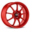 "O.Z Alleggerita HLT Red 18"" Rims Set (4) EVO X"