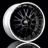 "O.Z Botticelli III Black w/Polished Lip Forged 19"" Rims Set (4) EVO X"