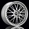 "O.Z Botticelli III Bright Silver w/Polished Lip Forged 19"" Rims Set (4) EVO X"