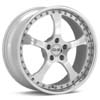 "O.Z Raffaello III Polished Forged 19"" Rims Set (4) EVO X"