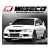 Wiseco Asymmetric Skirt Bore 86.00mm - Size +.040 - CR 9.5 Piston Set - EVO 8/9
