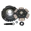 Competition Clutch Stage 4 - 6 Pad Ceramic Clutch Kit - EVO X