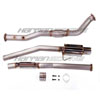 "AQ Motorsports 3"" Turboback Exhaust System - EVO X"