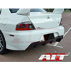 AIT Racing MR Style Rear Bumper - EVO 8/9