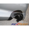 Rexpeed Carbon Fiber Exhaust Heat Shield - EVO 8/9