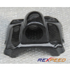 Rexpeed Carbon Fiber Steering Wheel Single Gauge Pod - EVO 8/9