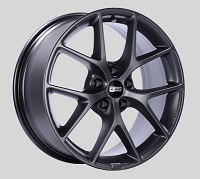 BBS SR 19x8.5 5x114.3 ET45 Satin Grey Wheels -82mm PFS/Clip Required