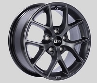 BBS SR 16x7 5x100 ET36 Satin Grey Wheels -70mm PFS/Clip Required