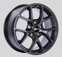 BBS SR 16x7 5x114.3 ET45 Satin Grey Wheels -82mm PFS/Clip Required