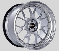 BBS LM-R 20x11 5x114.3 ET20 CB66 Diamond Silver Center Diamond Cut Lip Wheels