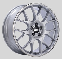 BBS CH-R 20x8.5 5x114.3 ET38 Brilliant Silver Polished Rim Protector Wheels -82mm PFS/Clip Required