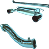 TurboXS Turbo Back Exhaust System wo/Cat - EVO X