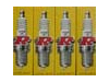 NGK BPR8ES Spark Plug Set of (4)