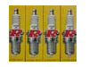 NGK BPR7ES Turbo Spark Plugs (4)